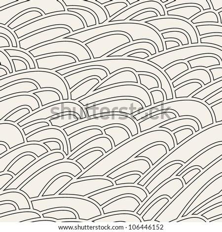 Stylish seamless pattern. vector texture - stock vector