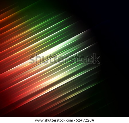 Stylized abstract vector background with glowing elements