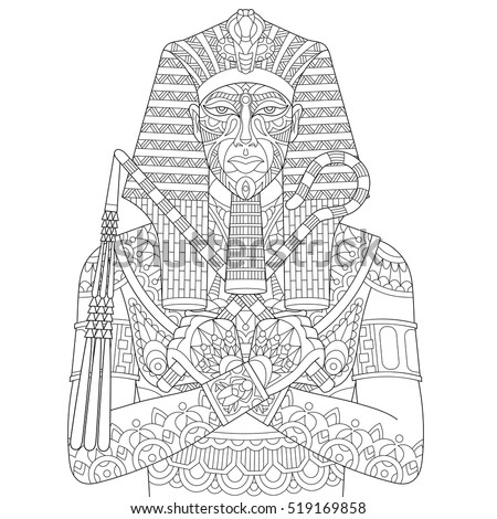 Pharaoh Coloring Pages Free Joseph And The Pharaoh Bible