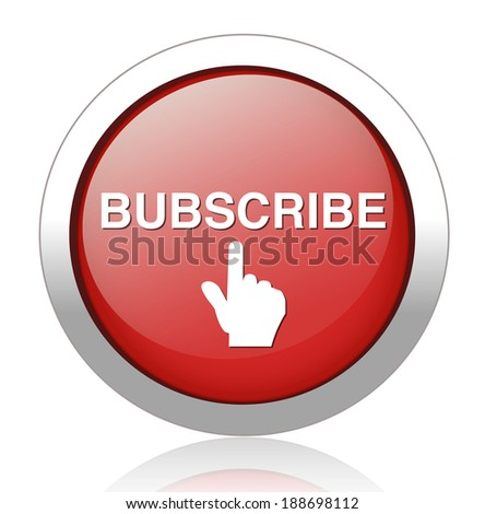 Subscribe online free subscription and membership for newsletter or blog join today button or icon - stock vector