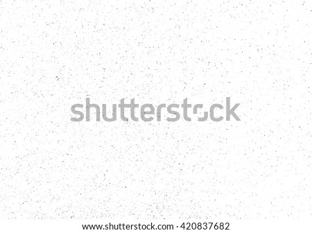 Subtle grain vector texture overlay. Abstract black and white gritty grunge background - stock vector