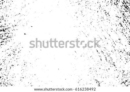 Subtle Rustic Vector Texture In Black And White Palette Distressed With Dust Noise