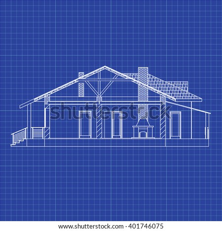 suburban family house best interesting architectural stock vector