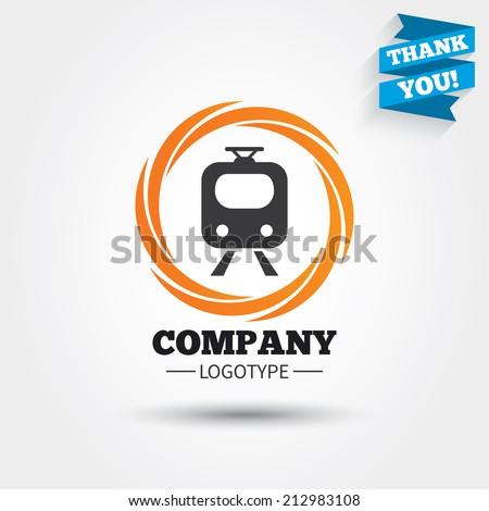 Subway Sign Icon Train Underground Symbol Stock Vector Hd Royalty