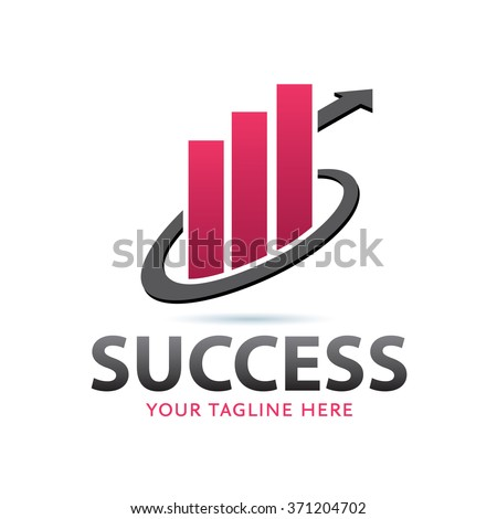 Success Logo Icon Elements Template - stock vector