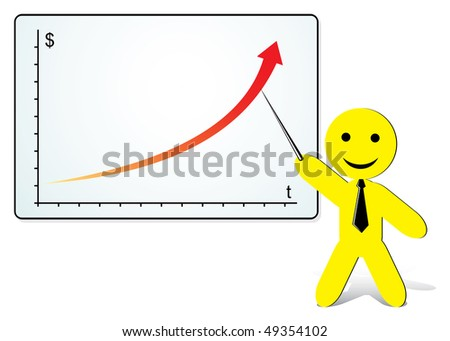 Successful business - stock vector