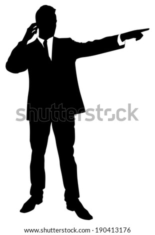 successful businessman, vector