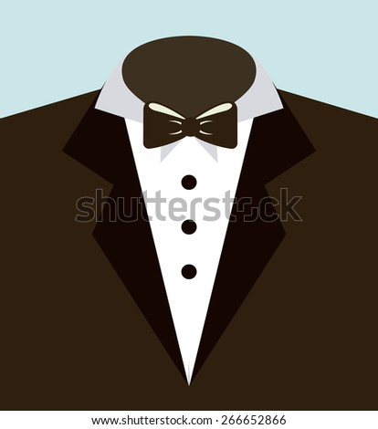 suit man design, vector illustration eps10 graphic
