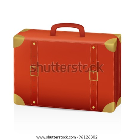 Suitcase - stock vector