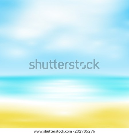 Summer Background, you can easy all editable - stock vector