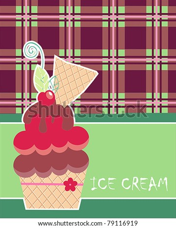 Summer collections ice cream
