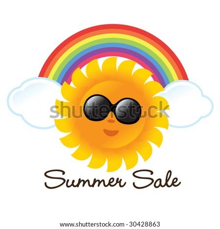 Summer Graphic - stock vector