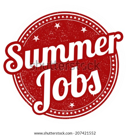 Summer Job Stock Images, Royalty-Free Images & Vectors | Shutterstock