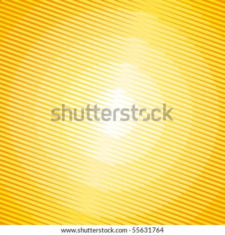 Summer sun radiations. Vector background. - stock vector