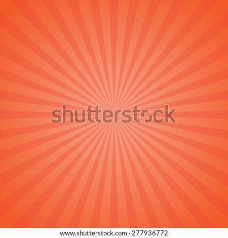 Sun abstract background - stock vector