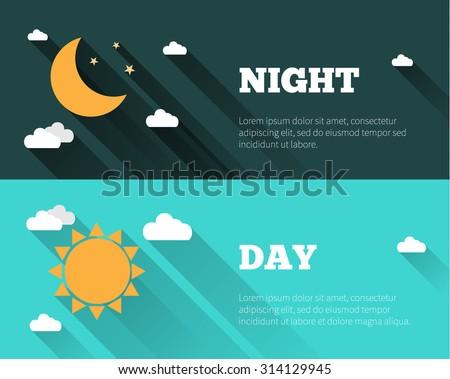 sun moon stars clouds icons dayのベクター画像素材 314129945