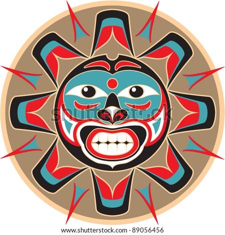 Native American Sun Symbols Tattoo Sun Native American Style