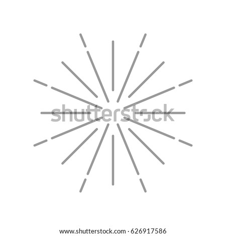 Retro Starburst Clipart Illustration Stock Vector 106559261 ...