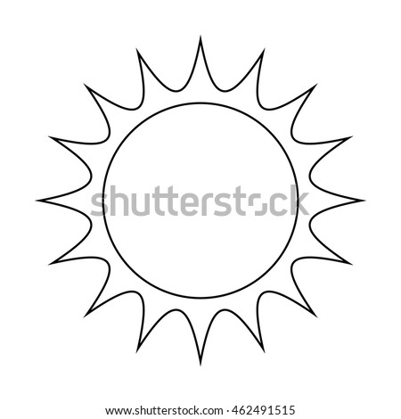 how to draw sun rays