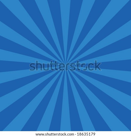 sunburst retro vector - stock vector