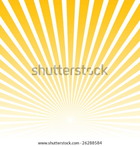 Sunburst vector - stock vector