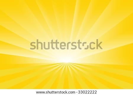 Sunburst vector - stock vector