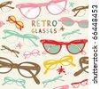 Sunglasses. Vector. - stock vector