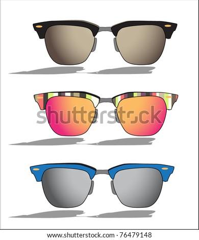 Sunglasses  Vector - stock vector