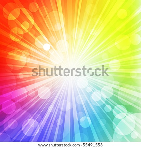 Sunlight. Vector illustration - stock vector