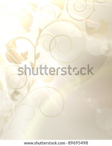Sunny vector background - stock vector