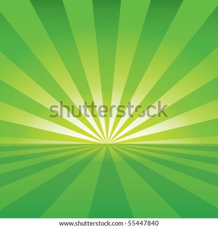 Sunrise Background - stock vector