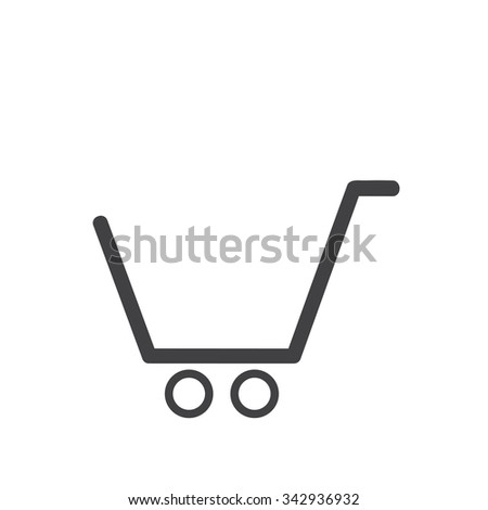 supermarket services, Shopping Icons - stock vector