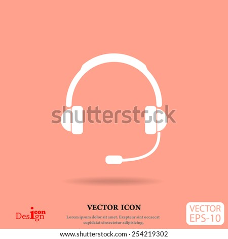 support vector icon - stock vector
