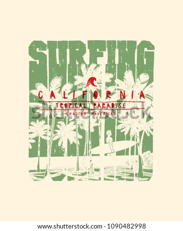 stock-vector-surfing-california-palm-bea