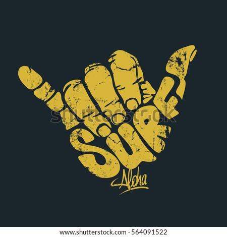 aloha finger stock images royaltyfree images amp vectors