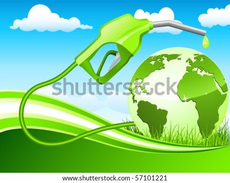 Sustainable raw materials vector illustration