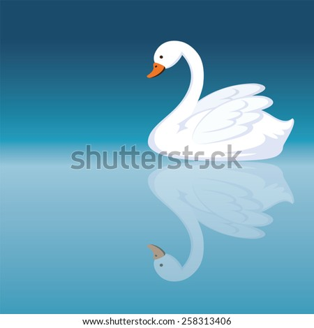 swan cartoon stock photos images amp pictures shutterstock