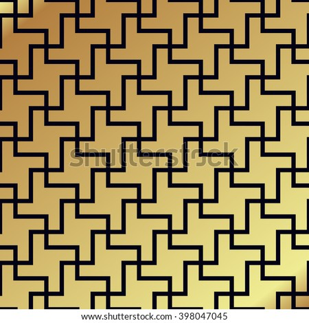 Swastika Seamless Pattern Rotating Cross Ancient Stock Vector Hd