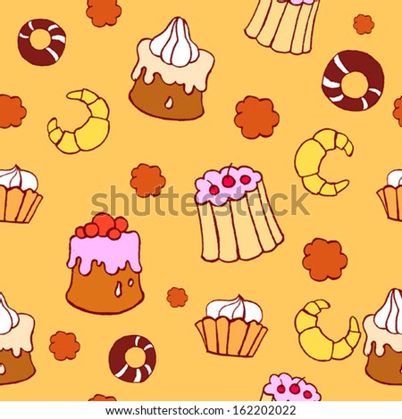 sweet background - stock vector