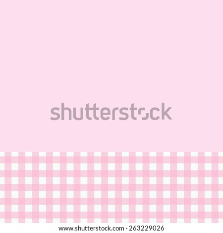 Sweet  card or invitation. Cute background and space to put your  text  - stock vector