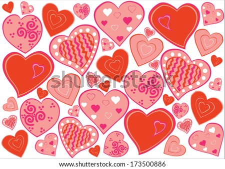 sweet hearts, backgrounds, love, valentines day