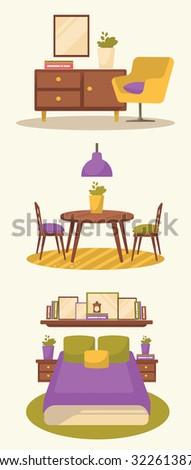 Vector Illustration Christmas Food On Table Stock Vector 525932725 Shutterstock