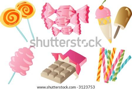 Sweet Treat (Vector) - stock vector