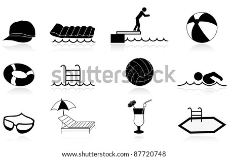 Swimming Pool Ball Stock Images Royalty Free Images Vectors