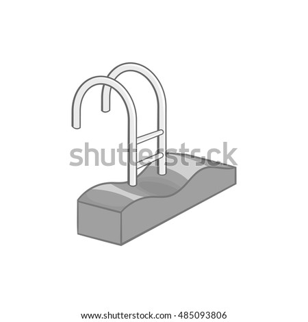 Pool Ladder Stock Images Royalty Free Images Vectors Shutterstock