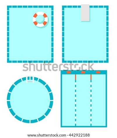 Swimming Pool Vector Stock Photo Photo Vector Illustration