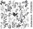 Swirly design elements 1 - stock vector