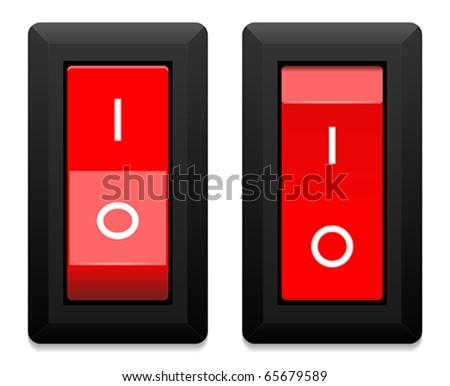 switch - stock vector