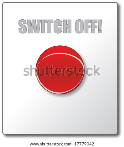Switch off button