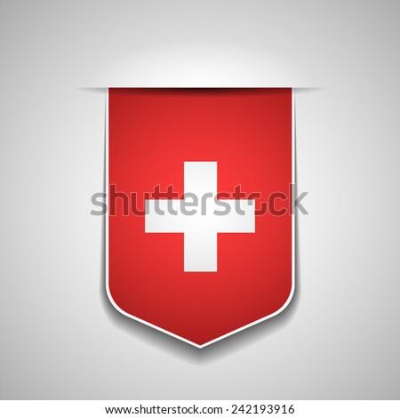 Switzerland - stock vector